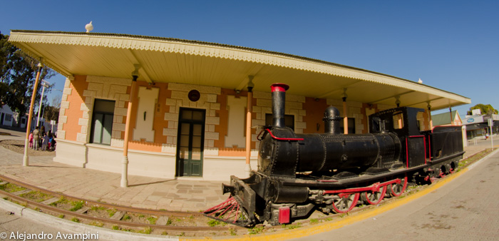 Train Museum in Puerto Madryn